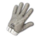 ถุงมือ Stainless Steel Mesh 100% ข้อมือผ้า (นำเข้าจากต่างประเทศ)